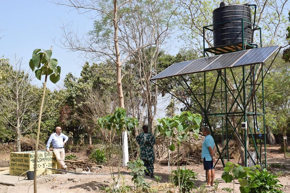 Fajara Rotarians Visit Famara Badgie\'s Garden In Sanyang
