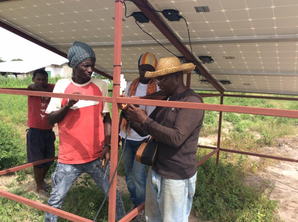 Fajara Rotary Club Deliver Solar Powered Project At Giboro